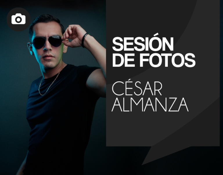 Sesión fotográfica César Almanza
